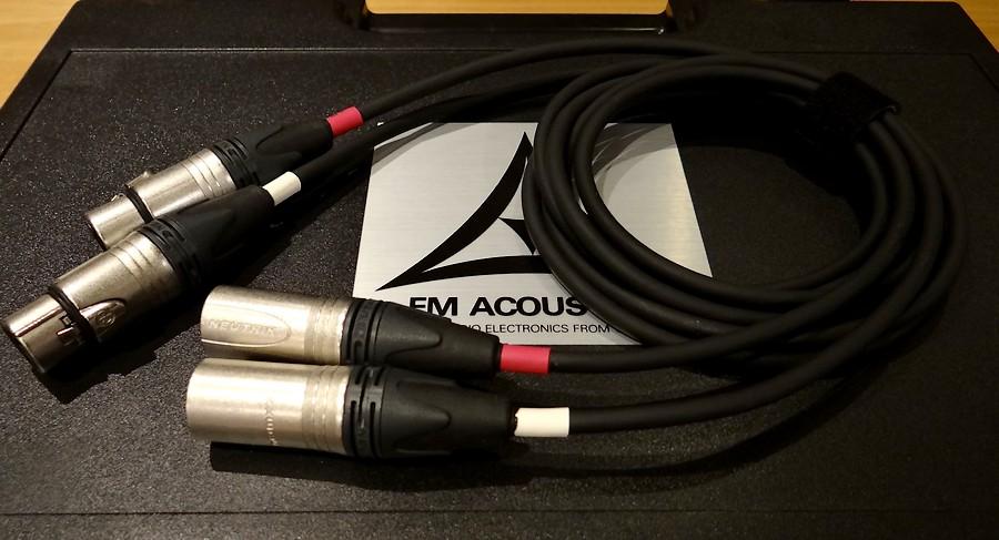 中古 FM ACOUSTICS CA25103ケーブル XLR-XLR 1.5メートル