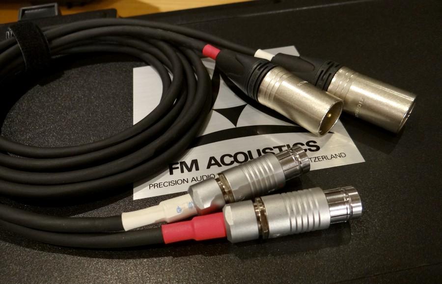 FM ACOUSTICS バランスケーブル CA25103使用 CELLO FISHER-XLR 1.8メートル