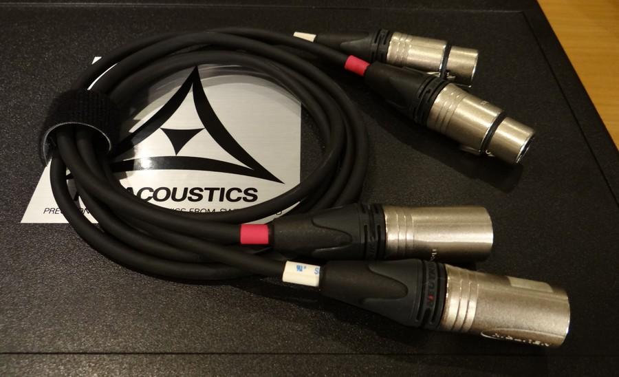 中古 FM ACOUSTICS CA25103ケーブル XLR-XLR 1メートル