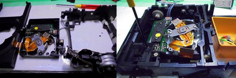 中古 STUDER D731 ドライブメカ分解オーバーホール整備