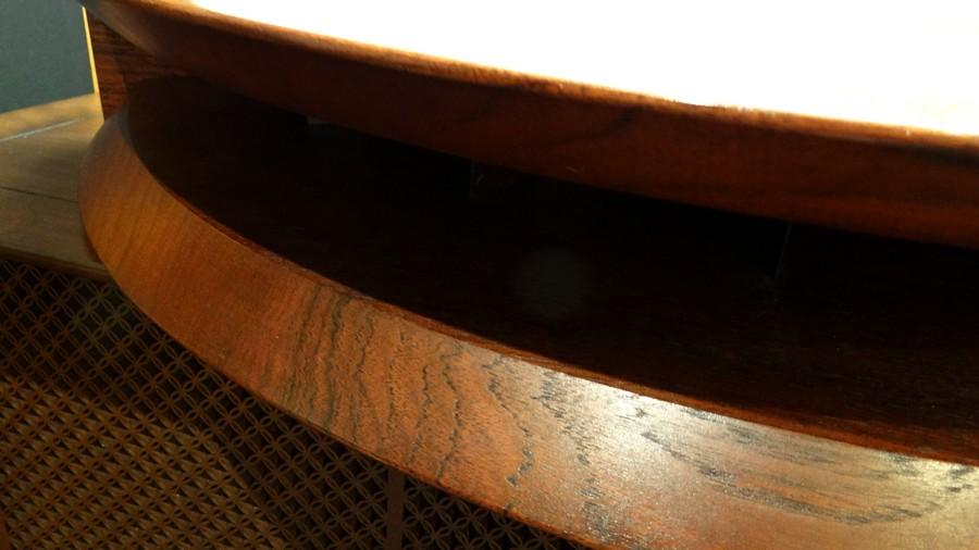 赤坂工芸PHG8002 Mk2 無垢大型ウッドホーン   ¥120,000.  銘板がありません。傷等があります。無垢フルサイズホーン