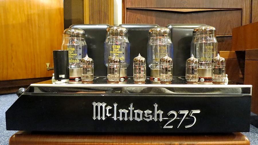 中古 McIntosh マッキントッシュ MC275 メーカー整備・オーバーホール済み