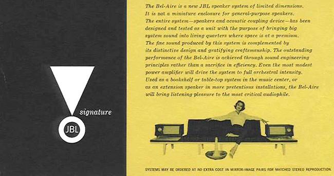 中古 JBL Bel Air スピーカーシステム