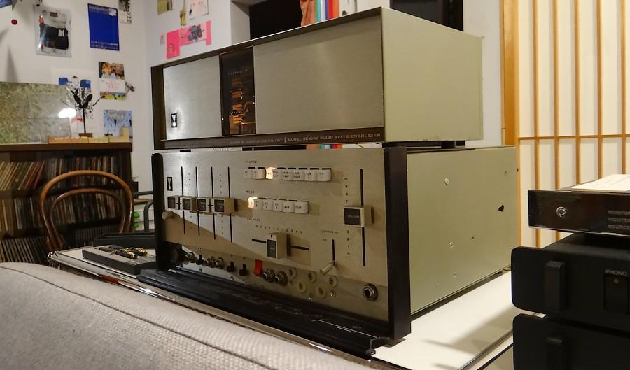 中古 JBL SG520 オーバーホール版(米国パーツ・オリジナルヴォリューム)