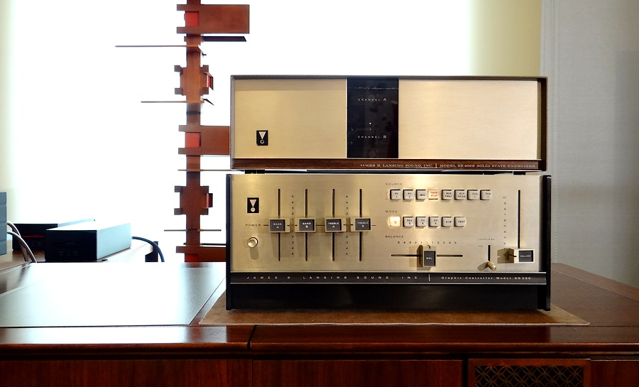 JBL SG520 pre-amp