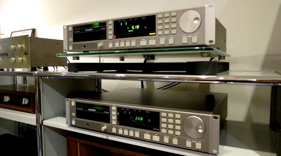 中古STUDER D731 音楽制作プロに人気のトレイTYPE。フューズや回路部改造