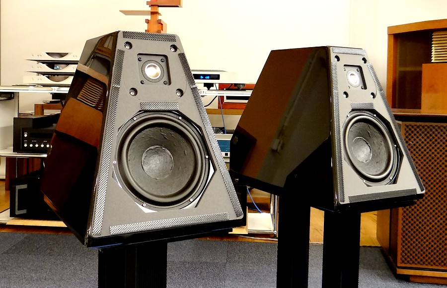 中古スピーカー ウイルソンオーディオ WILSON AUDIO WATT/5 可搬モニターのみ。サランネットは2種類付属(計4枚)