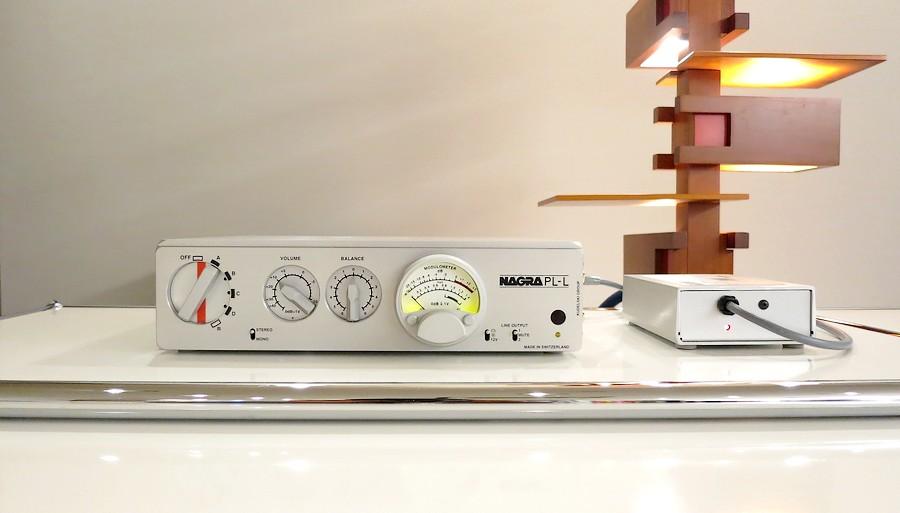 中古 NAGRA PL-L  ラインプリアンプ 美品のスイスナグラ・コントロールアンプ 中古―ディオショップ
