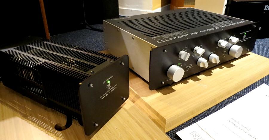 カウンター・ポイント プリ Counter Point SA5000 PHNO対応コントロールプリアンプ 代理店整備準拠 整備後にご案内