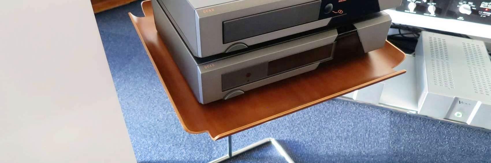 quad66 プリアンプとCD、リモコン