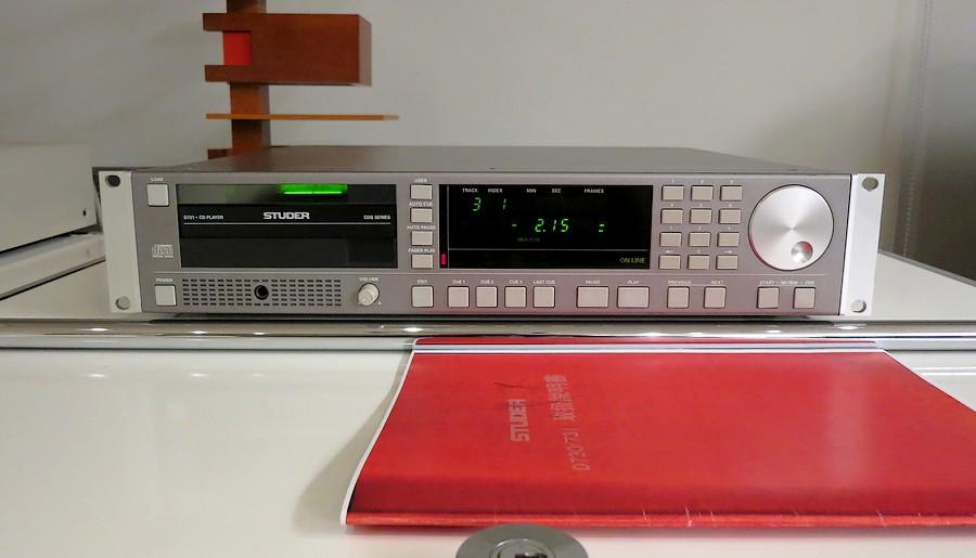 中古ハイエンドプロ用 STUDER D731 業務用CDプレーヤー