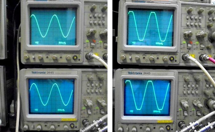 レビンソン パワーアンプ整備 No.20.6L 正弦波