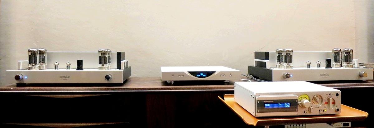 中古Sonus Faber Guarneri Memento (ソナスファベール・ガルネリ・メメント)× OCTAVE Audio MRE130&Black BOX 真空管モノラルパワーアンプ