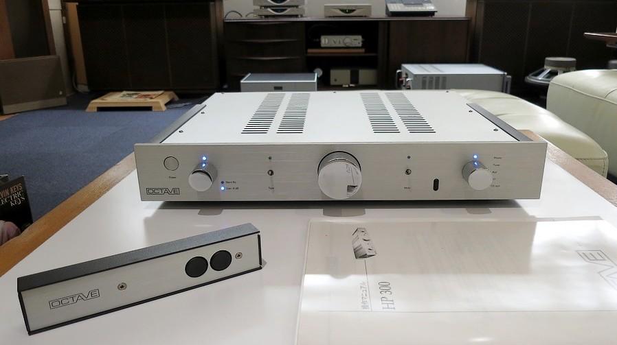OCTAVE HP300 中古。フロントパネルXLR入力・出力