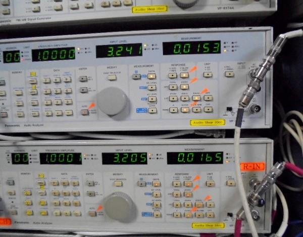 D730MK2_調整調整中。1Khz左右共歪率0.01%台。
