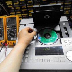 劇場演出空間技術協会『CDProAudio Acoustics Technical CD』にて1Khz_基準信号などを再生。ハイエンド中古オーディオショップ。