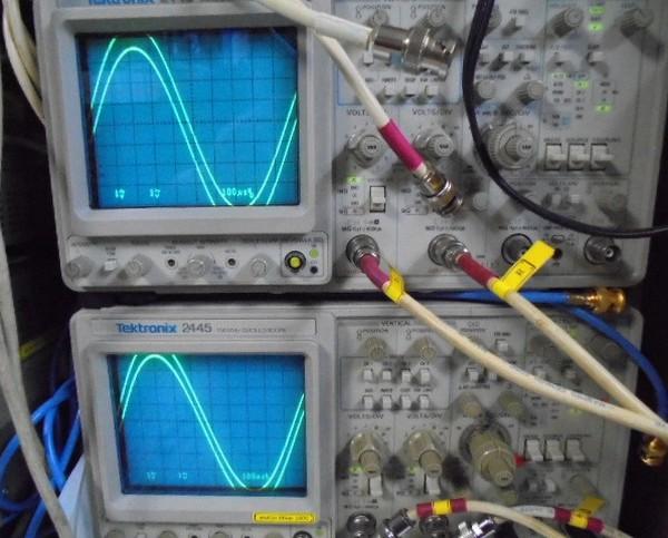 D730_MKⅡ_調整調整中写真_正弦波も左右綺麗に観察されました