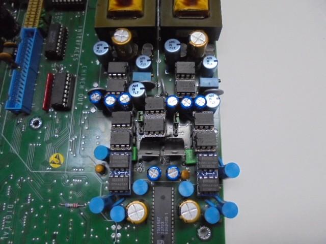 D730MKⅡ_クロックUPマシン。狂気とも思えるアナログ回路。BB製オペアンプが14個搭載。