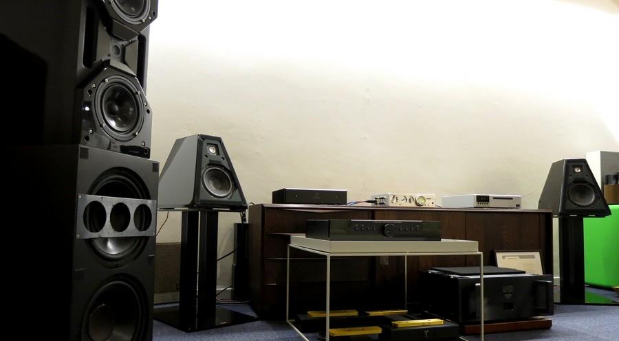 WILSON AUDIO CUB&ENTEC L2f20とWILSON AUDIO System WATT5