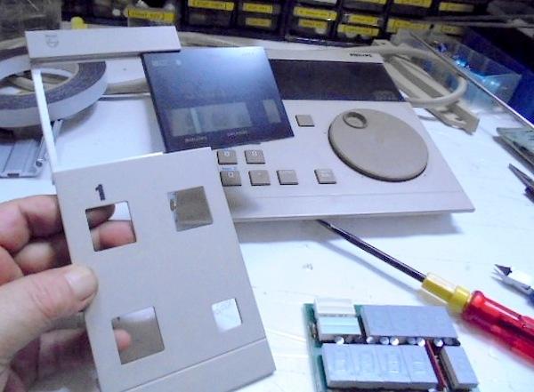 フィリップス CDプレーヤー PHLIPS LHH2000コントロール部のオーバーホール