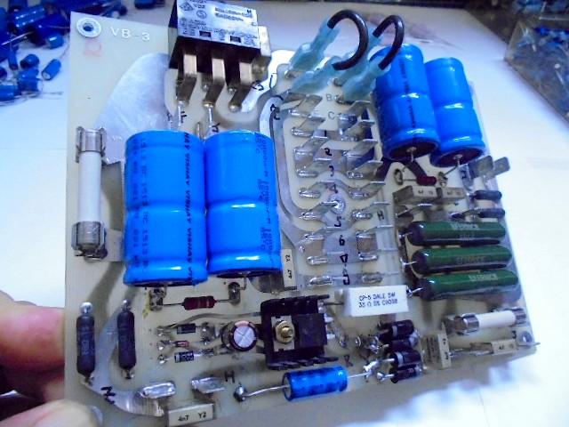 20_6L全面パネル億の電源回路、ほぼ100%、新品のオリジナル現行生産電子パーツに交換