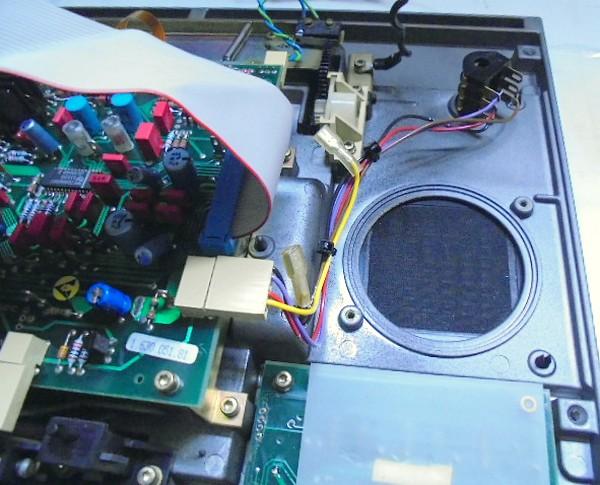 STUDER A730 スピーカー削除。