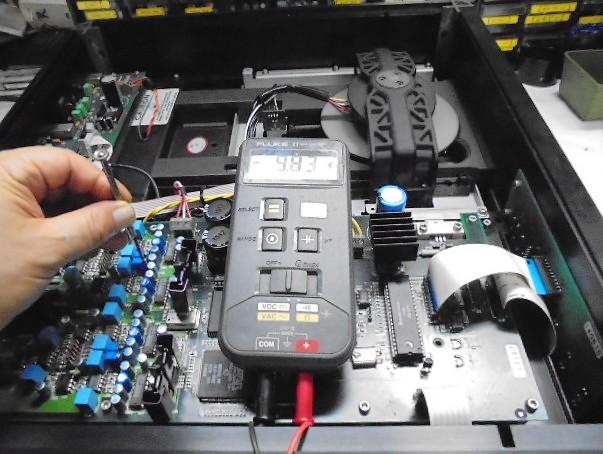 WADIA 16 DCバランス調整。