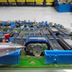中古オーディオ ビンテージ整備。A730電池の液漏れがかなりありました