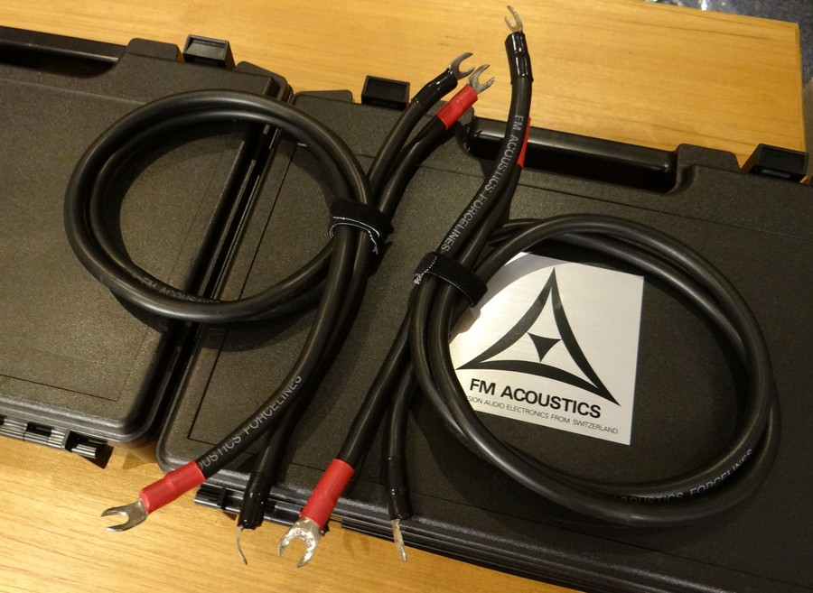 FM Acoustics FL3S 1mスピーカーケーブル