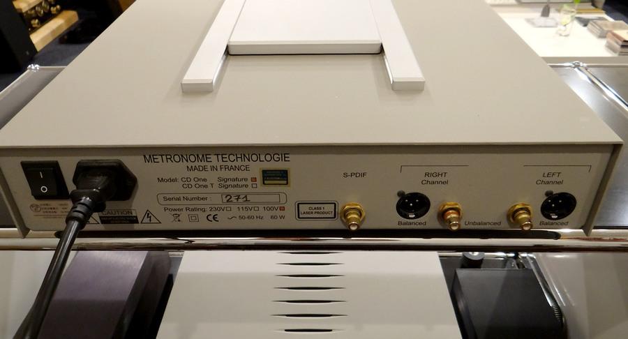 中古METRONOME TECHNOLOGIE  CD1 Signature 正規品|中古メトロノームCDプレーヤー