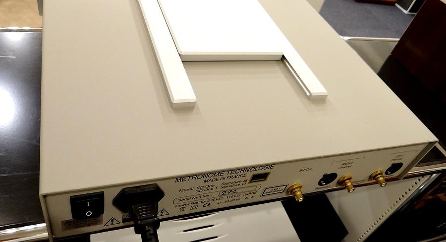 METRONOME TECHNOLOGIE  CD1 Signature 正規品|中古メトロノームCDプレーヤー