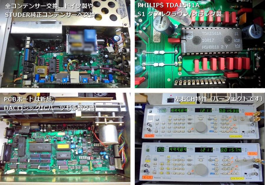 A727 新品PCBボード、新品CDM1メカ、新電源部、交換部品:186個