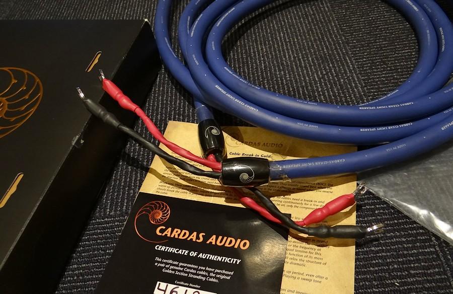 CARDAS カルダス  ■CARDAS Clear Light スピーカーケーブル 定価¥234,360 販売価格¥105,000.  元箱付 Clear Light(クリア・ライト)スピーカーケーブルは、上級機のClearスピーカーケーブルのコンセプトを多く引き継いだスピーカーケーブルで取り回しもしやすいケーブルです。Clear Speakerケーブルと同タイプのコンダクターを採用。