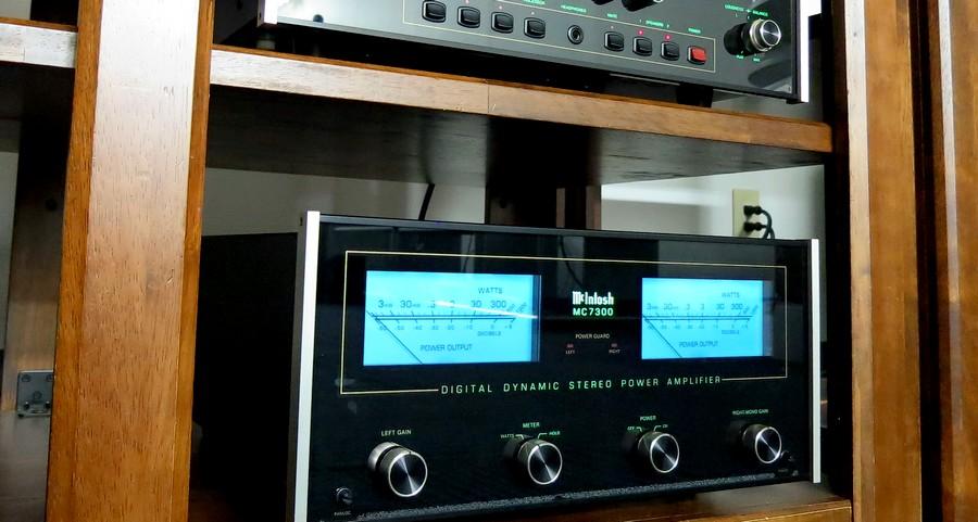 【中古 】McIntosh Mc7300 マッキントッシュ・パワーアンプ。ハイエンド中古パワーアンプ