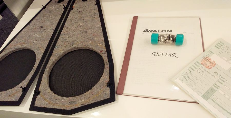 AVALON Avatar Speaker アバロン アバター 中古 付属品