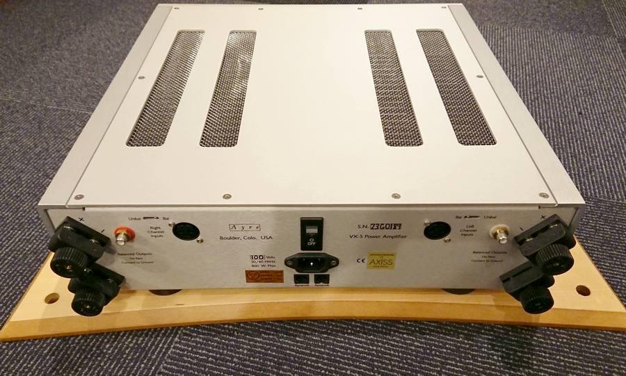 Ayre VX-5 Twenty Power amp|エア パワーアンプVX5|RCA、XLR入力、バイワイヤリング対応