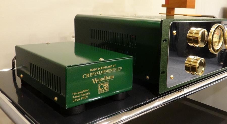 CR Developments woodham 300 classic、電源は別筐体