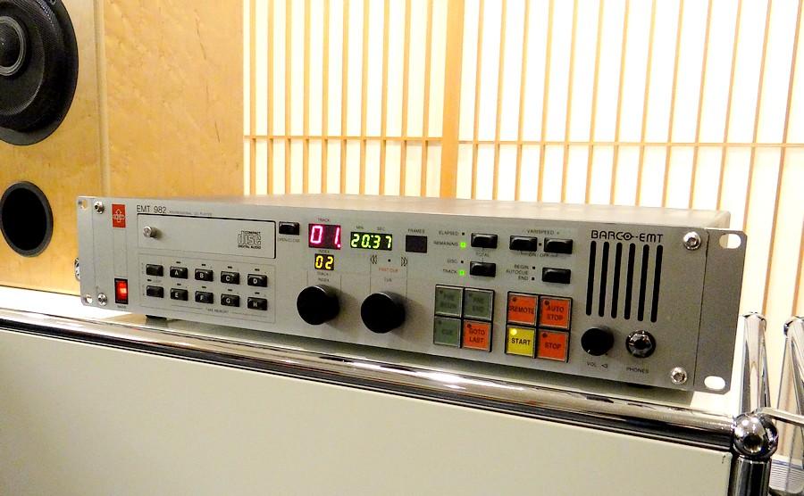 EMT 982 CDプレーヤー