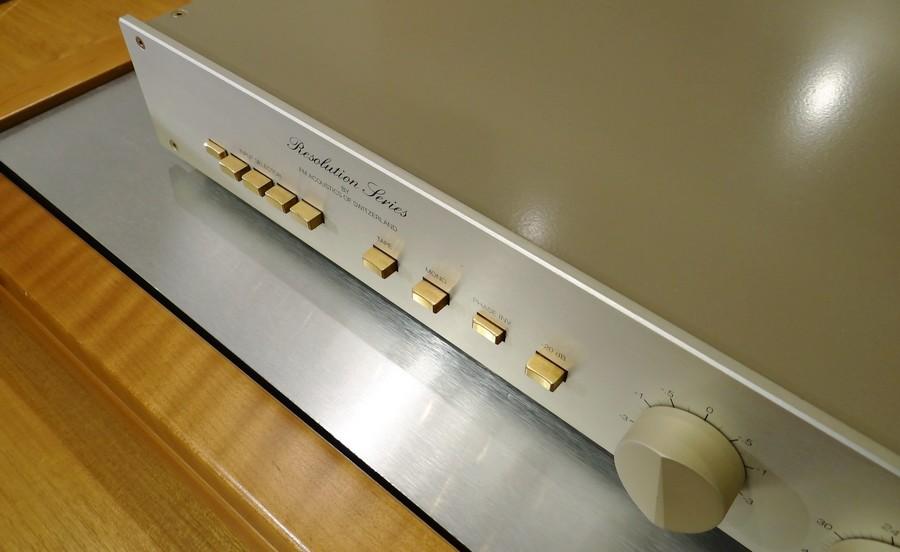 FM Acoustics FM255 preamp axiss