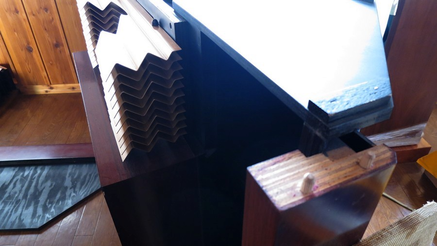JBLハーツフィールド後期(国産箱)天板エッジ ビンテージJBL