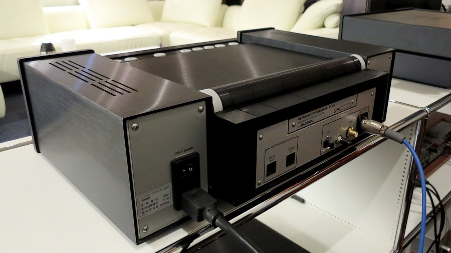 Mark Levinson No.31.5L Reference CD トランスポートリアパネル