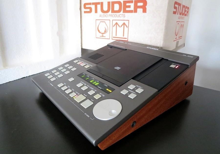 整備レストア プロ用CDプレイヤー販売。EMTやSTUDER。整備・修理可能。東京 中古オーディオ販売