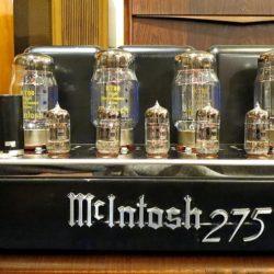 中古 McIntosh マッキントッシュ MC275 メーカー整備・オーバーホール済み KT88 McIntosh刻印