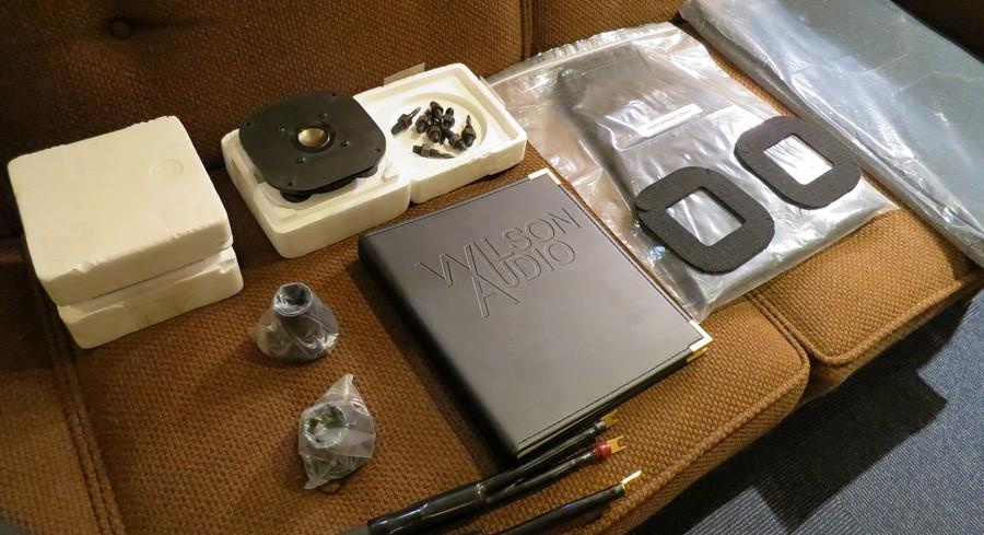 【中古】 WILSON AUDIO System 5 元箱・付属品多数あります。