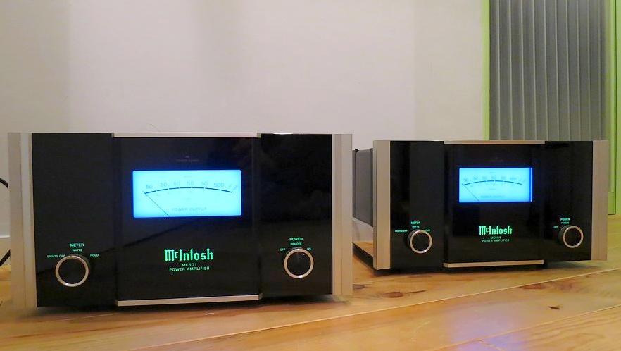 McIntosh MC501 美品 モノラルパワーアンプ 整備済