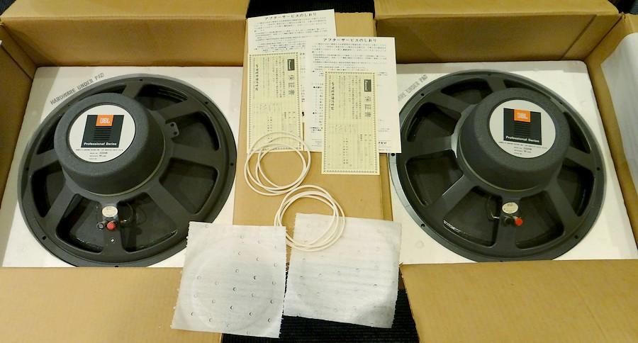 ウーファーユニット JBL2220B 16Ω 新品15インチユニット