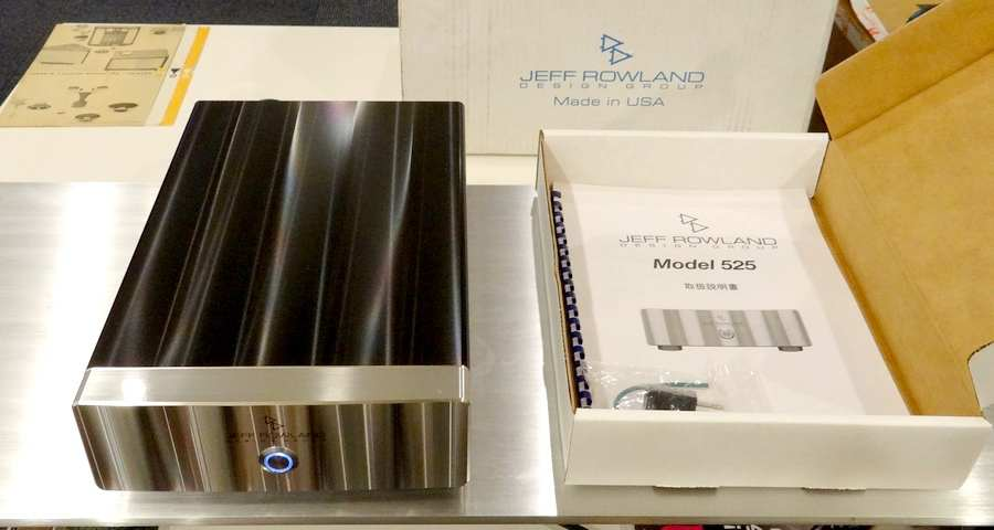 【ジェフローランド】Jeff Rowland Model 525 パワーアンプ・元箱