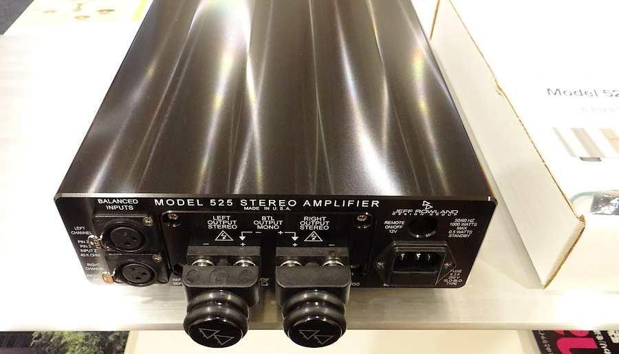【中古ジェフローランド】Jeff Rowland Model 525 パワーアンプ