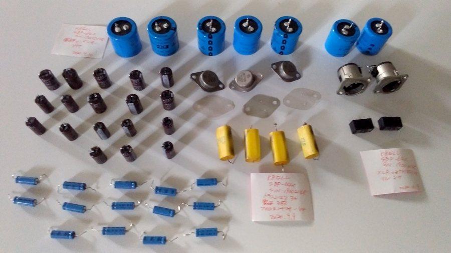 KRELL SPB64X DAC |オーバーホール整備 交換パーツ