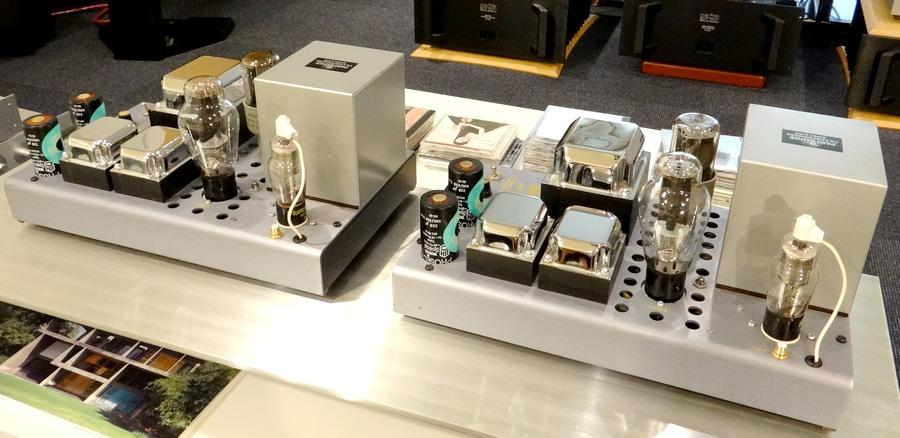 L'AUDIOPHILE 300BWE(WE300B付属)パワーアンプ